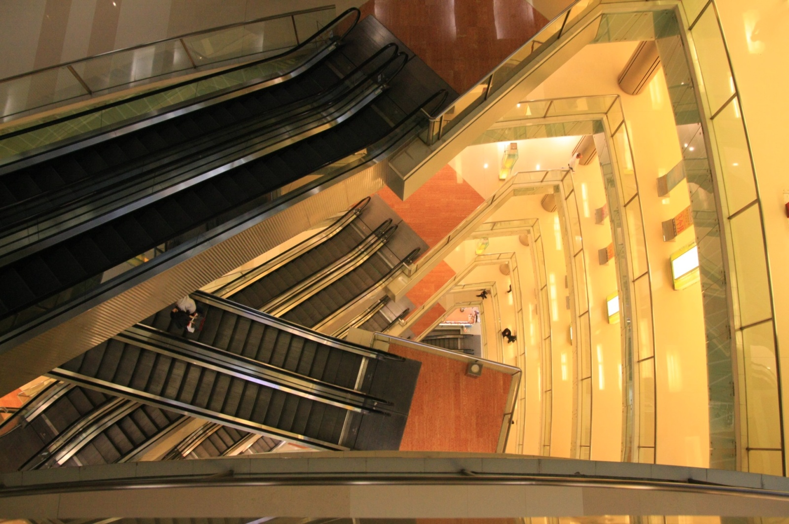 More huge shopping centers - China is cheaper than Hong Kong, so people make visas and come here