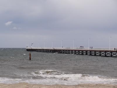 Busselton Pier. 1.8km in length