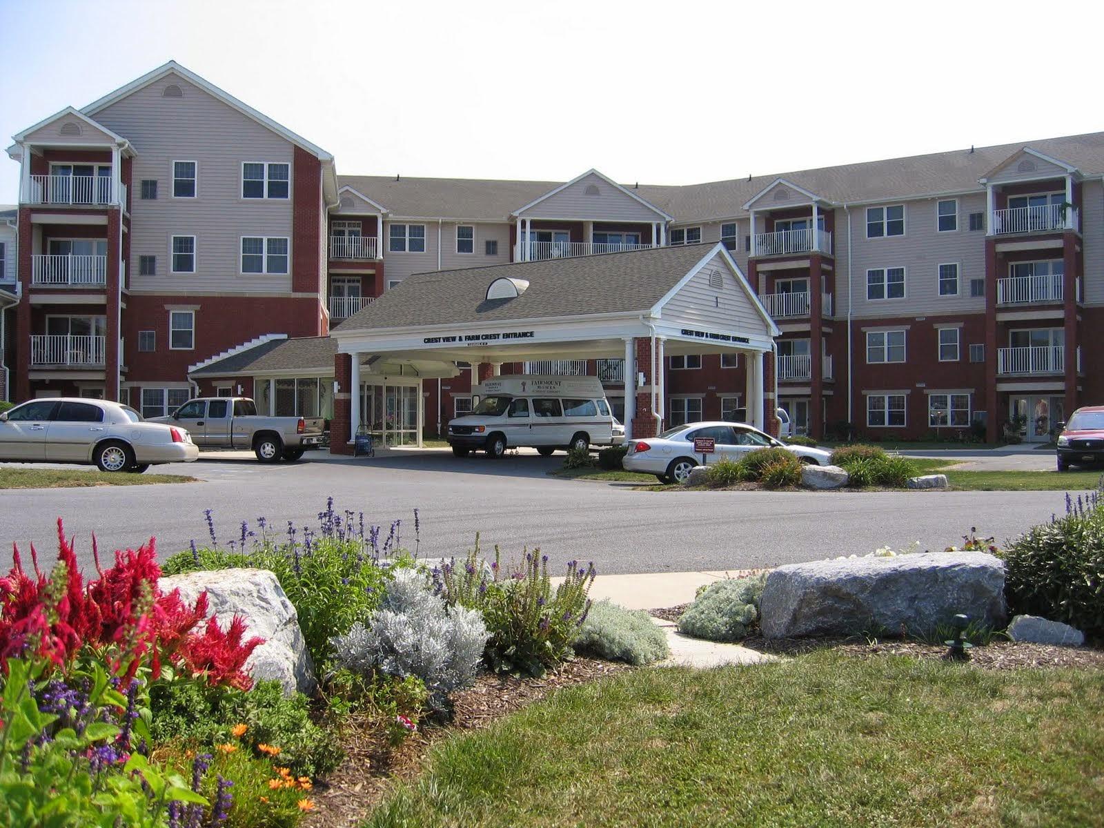 Crest View apartment building