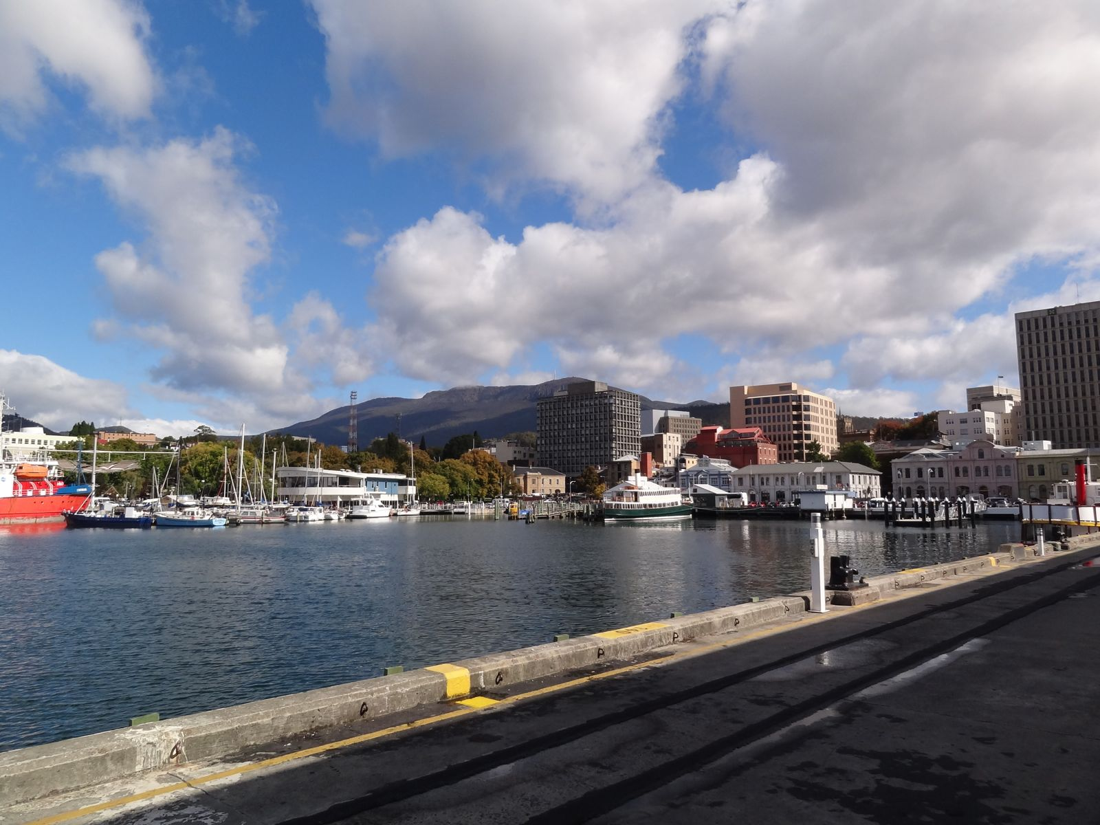 Downtown Hobart