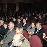 A díjátadó ünnepség résztvevőinek egy csoportja