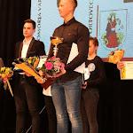 Zalka Csaba kapta a legjobbnak járó díjat - a háttérben Egyenes Pörsök Henrik
