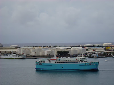 One of the Moorea ferries