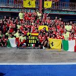 Scuderia Ferrari celebration after victory in Valencia