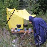 Starší - puťák: Dokonce jsme vařili v kryté kuchyni :-)