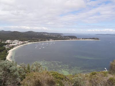 Shoal Bay from Tomaree heads