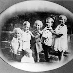 Family of Mr & Mrs Albert William Smith: Harold, Arthur William, Jack Trewin, Freda Elizabeth, Gordon Sidney, Eleanor Gwendoline