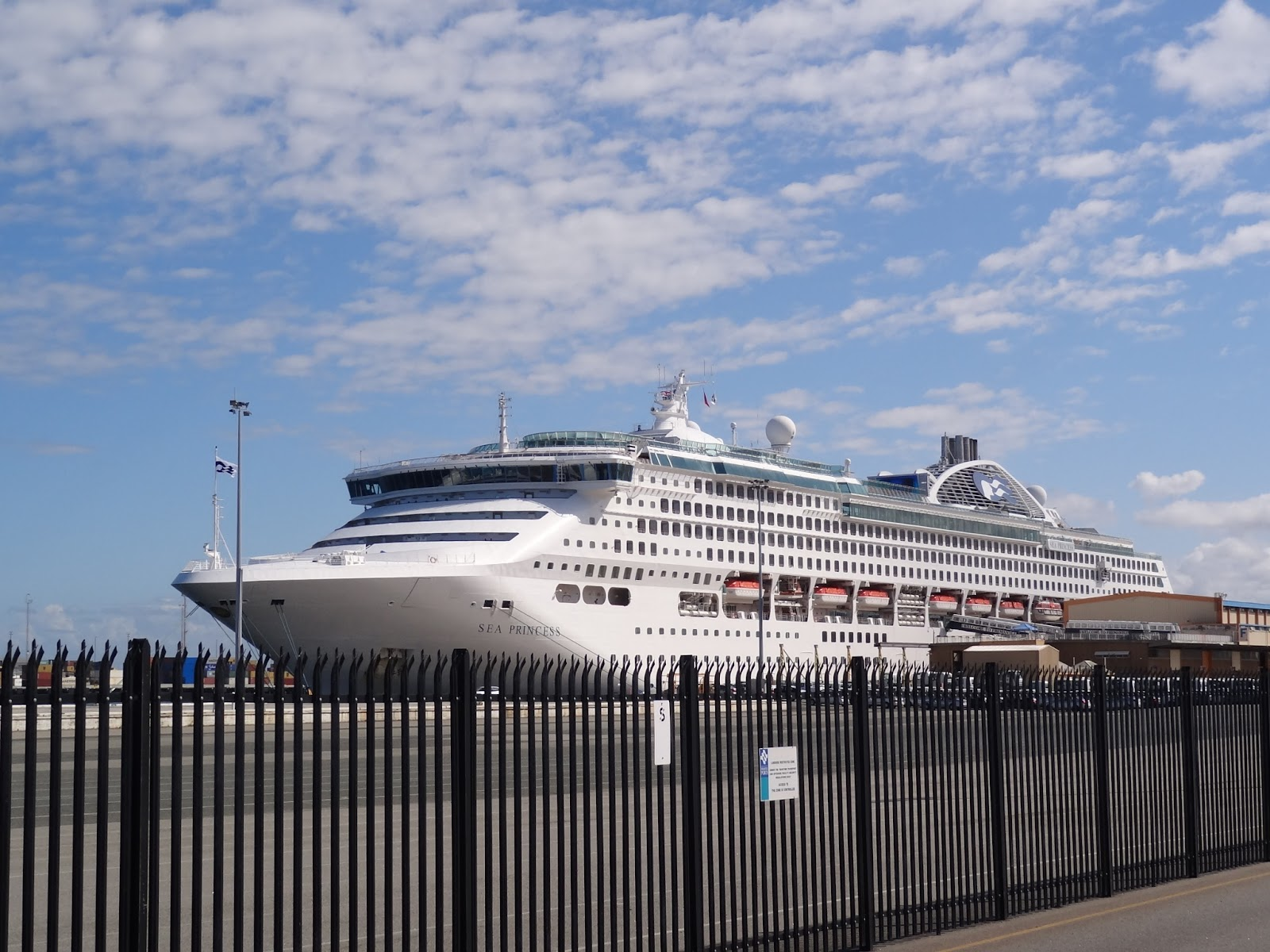 Cruise Ship in at Fremantle