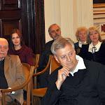 Az ünnepség résztvevői, az első sorban Éhn József az egyik díjazott