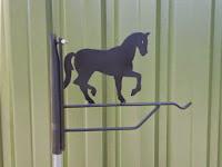 bloemenhanger paard
