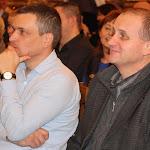 Keszegh Béla, Komárom alpolgármestere és Andruskó Imre, aSelye Gimnázium igazgatója és egyben városi képviselő