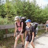 Den 9. (neděle 6. 7.) - jednotlivě po týmech odcházíme hledat cestu z pralesa