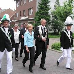 2007 Schützenfest: Kirchgang und Frühschoppen
