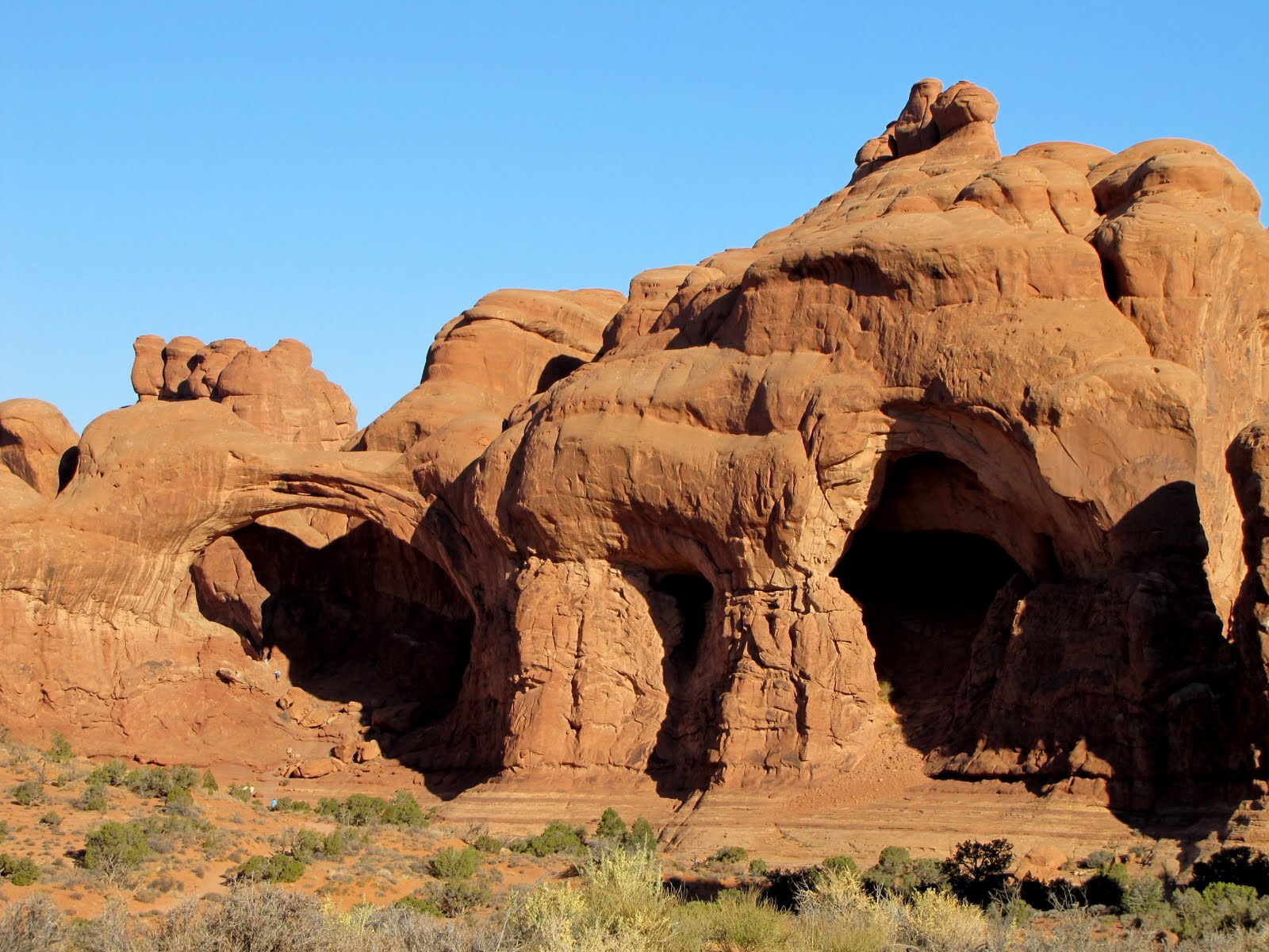 The Double Arch