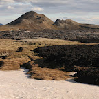 Yes, this is snow - fire and ice are close in Iceland