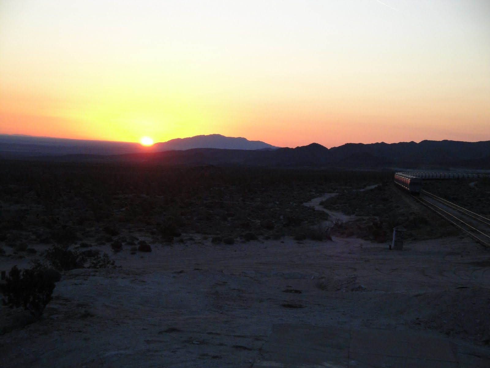 Linda's Anza Borrego Desert sunrise picture