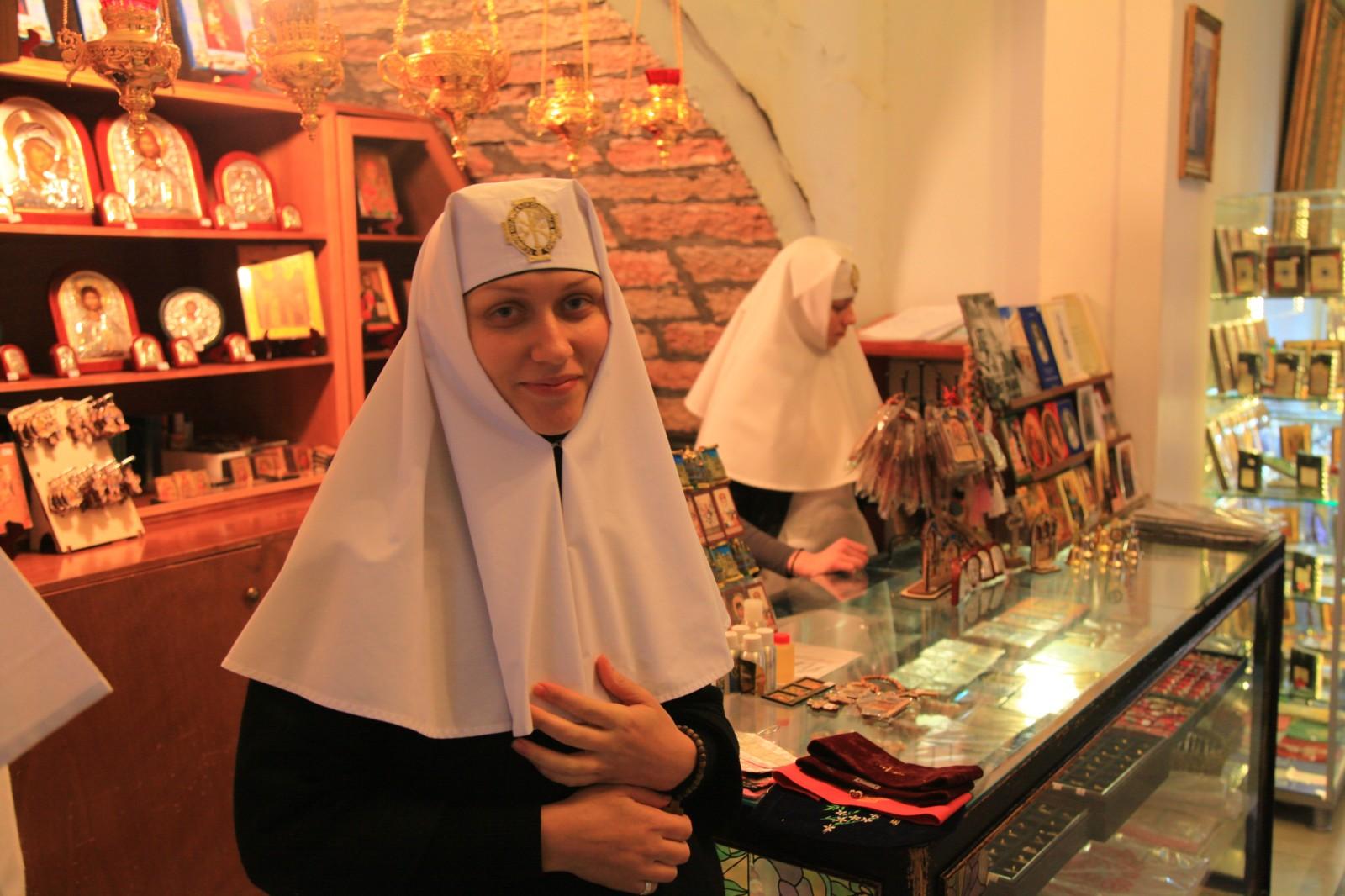 Orthodox nuns from Ukraine