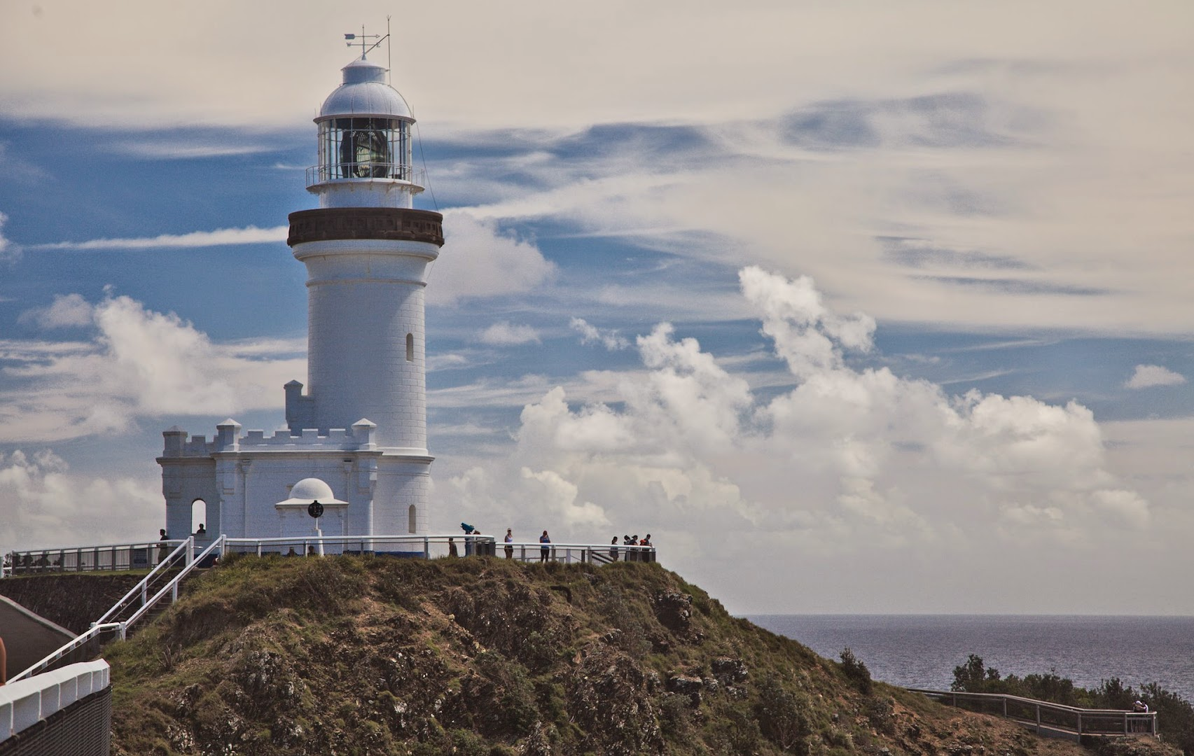 Autstralia's westernmost point, near Byron Bay