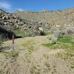 Trail-Head at Hornblende Canyon