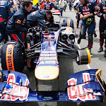Daniel Ricciardo's Toro Rosso STR7