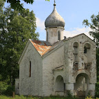 Abandoned Old Believers' church of St Peter-Paul