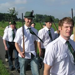 2007 Schützenfest: Ausholen der Majestäten (Montag)