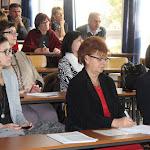 Pathó Marianna, a Miniszterelnökség Nemzetpolitikai Államtitkárságától is részt vett a konferencián. Mellette Pogány Erzsébet és Fabó Mária