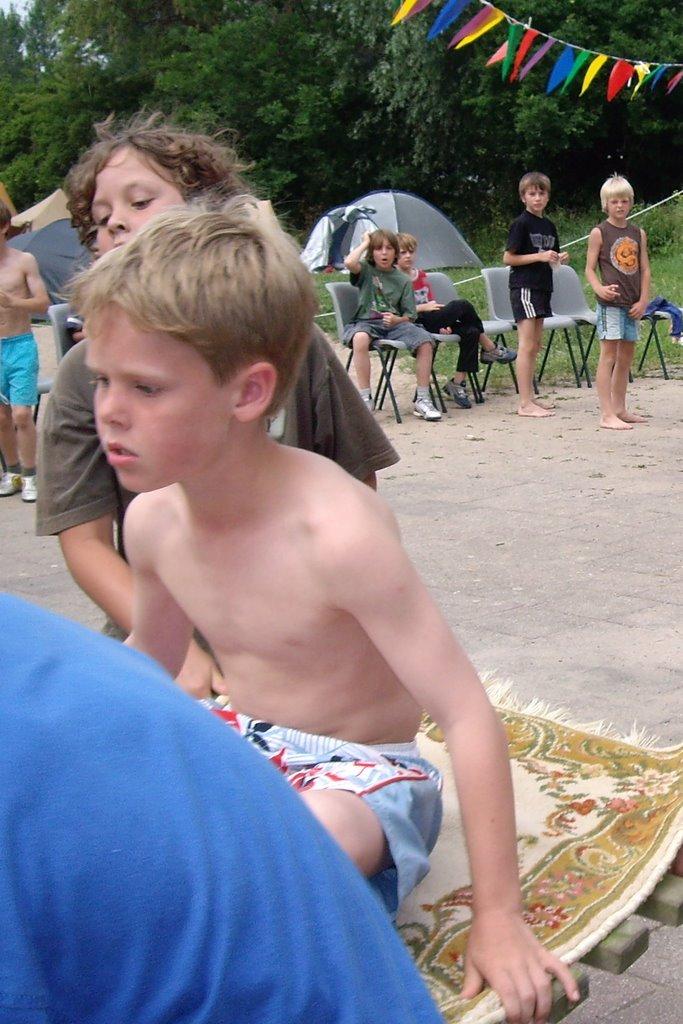Kampeerweekend  23,24 juni 2006 - kwk2006 101