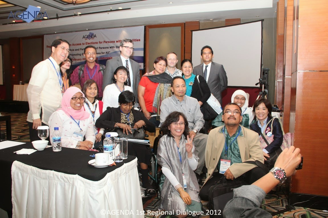The 1st AGENDA Regional Dialoge on Access to Elections - 2012