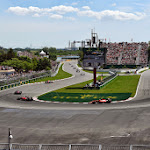 Turn 10 early in the race