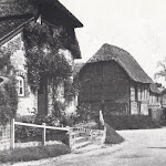 Sign of the Crown and Owlscote Manor, early 1950s