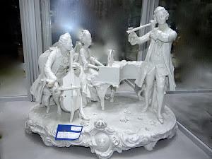 """Скульптурная композиция  """"Урок музыки"""". Германия ок.1900 г."""