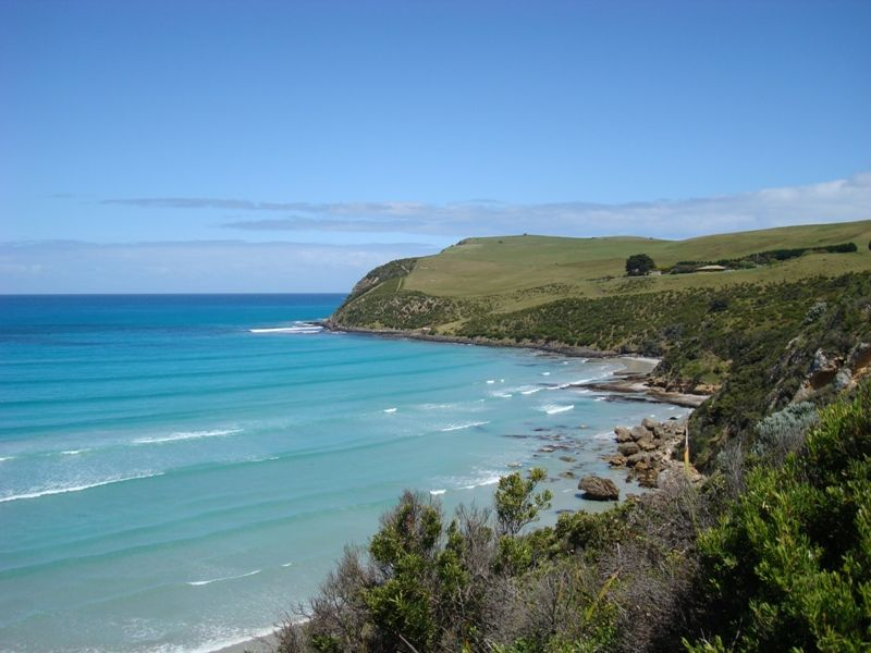 Another part of Cape Bridgewater on the Bridgewater Bay side. This is the start of the walk to the seal colony