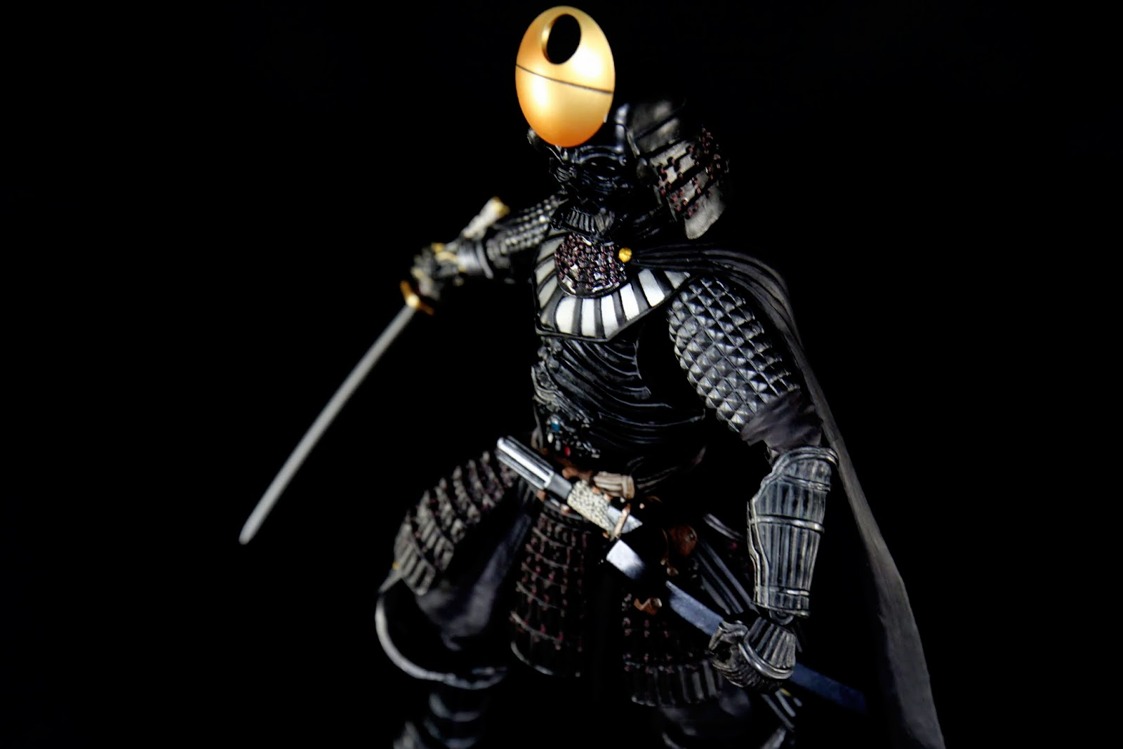 好帥的黑武士!