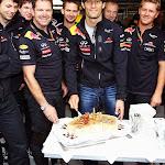 Mark Webber birthday cake