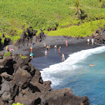 Waianapanapa State Park - Black Sand Beach