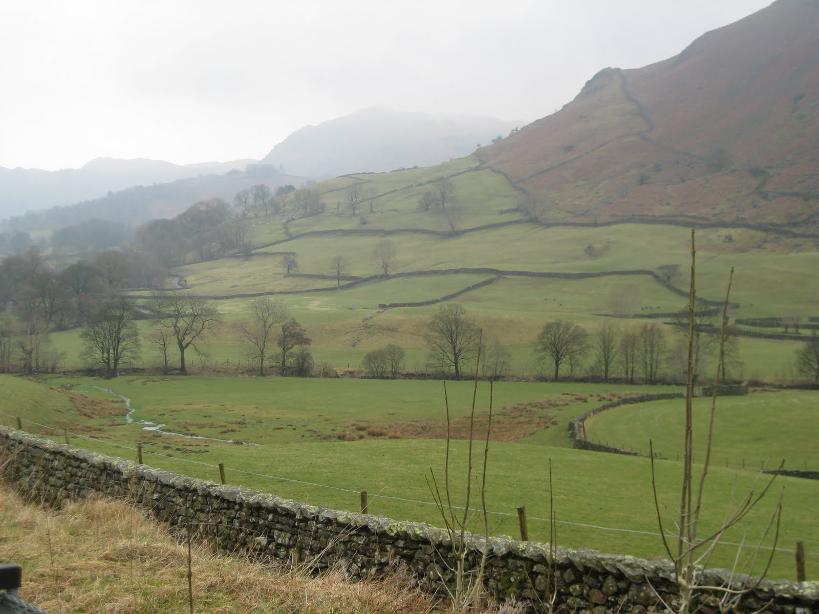 Cumbrian farmland