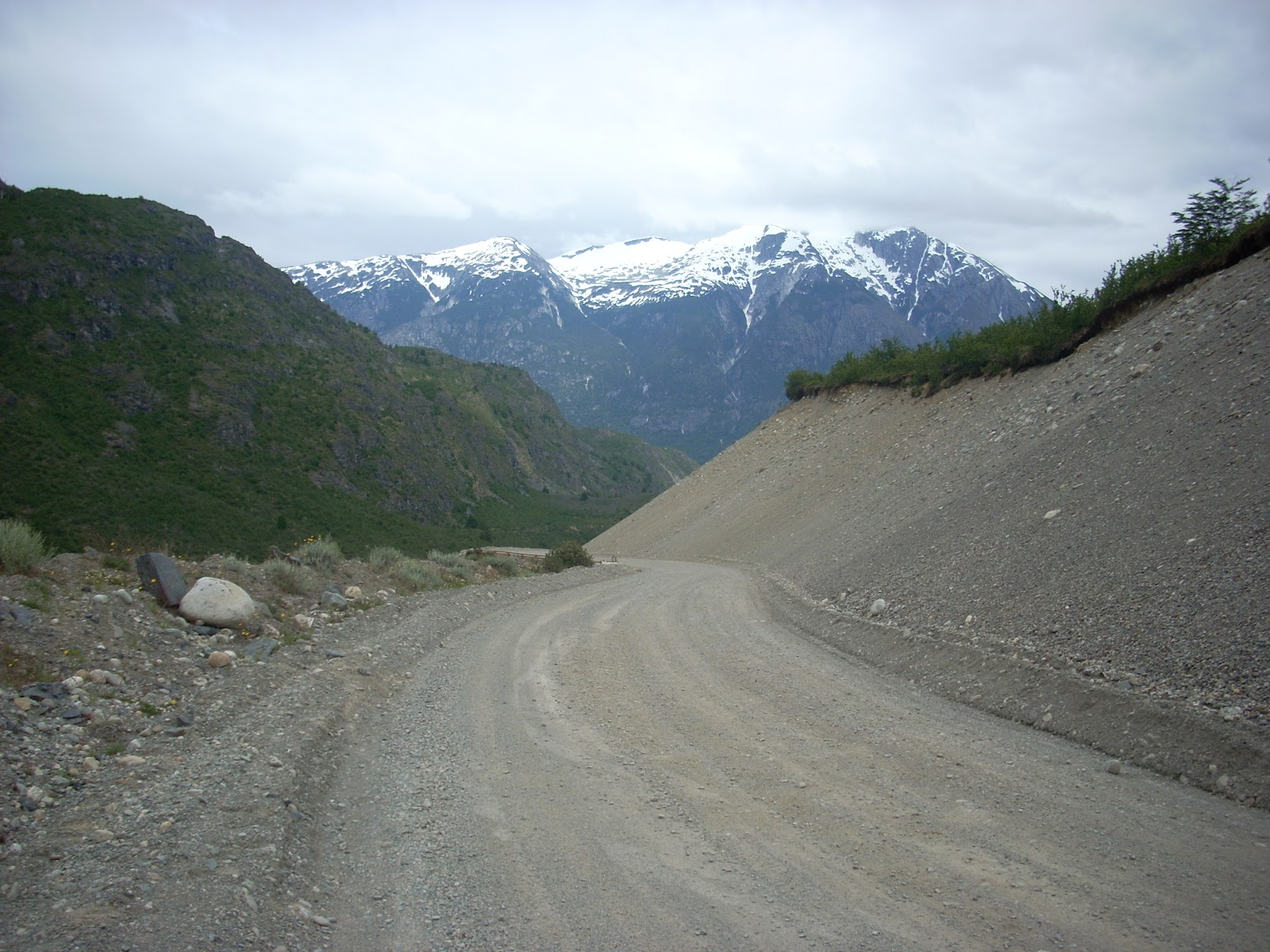 Gravel roads, and mountains too