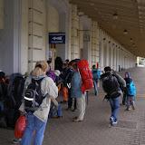 Příjezd na nádraží v Meziměstí