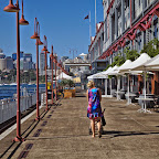 One of the many wharfs in Sydney