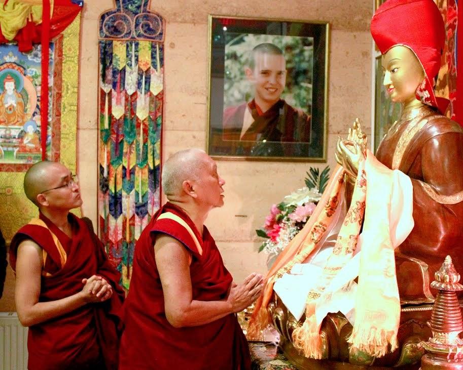 Lama Zopa Rinpoche at Atisha Centre, Australia, September 2014. Photo by Ven. Thubten Kunsang.