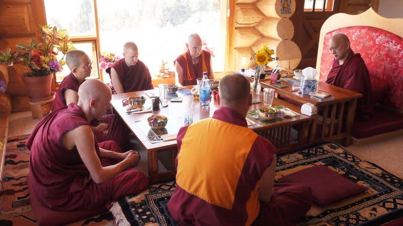 Lunch at Buddha Amitabha Pure Land
