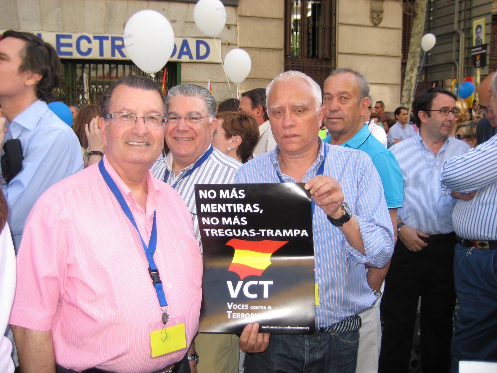 Manifestacion contra el Terrorismo