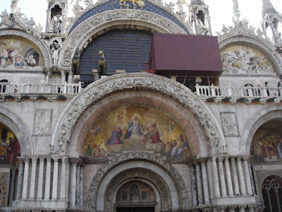 Basilica di San Marco. We didn't go inside due to the queues and dodgy bag policy
