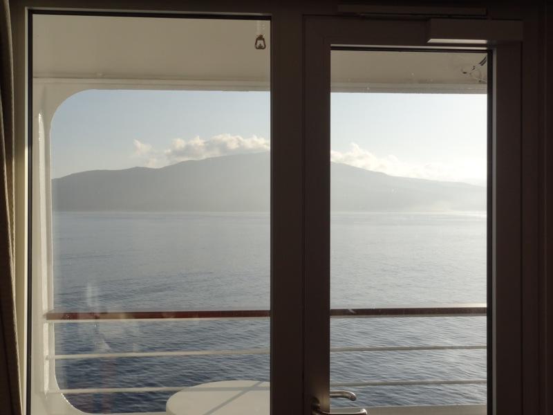 I woke to the island of Aneityum out my window