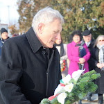 Medvácz Lajos, Balassagyarmat polgármestere koszorúz