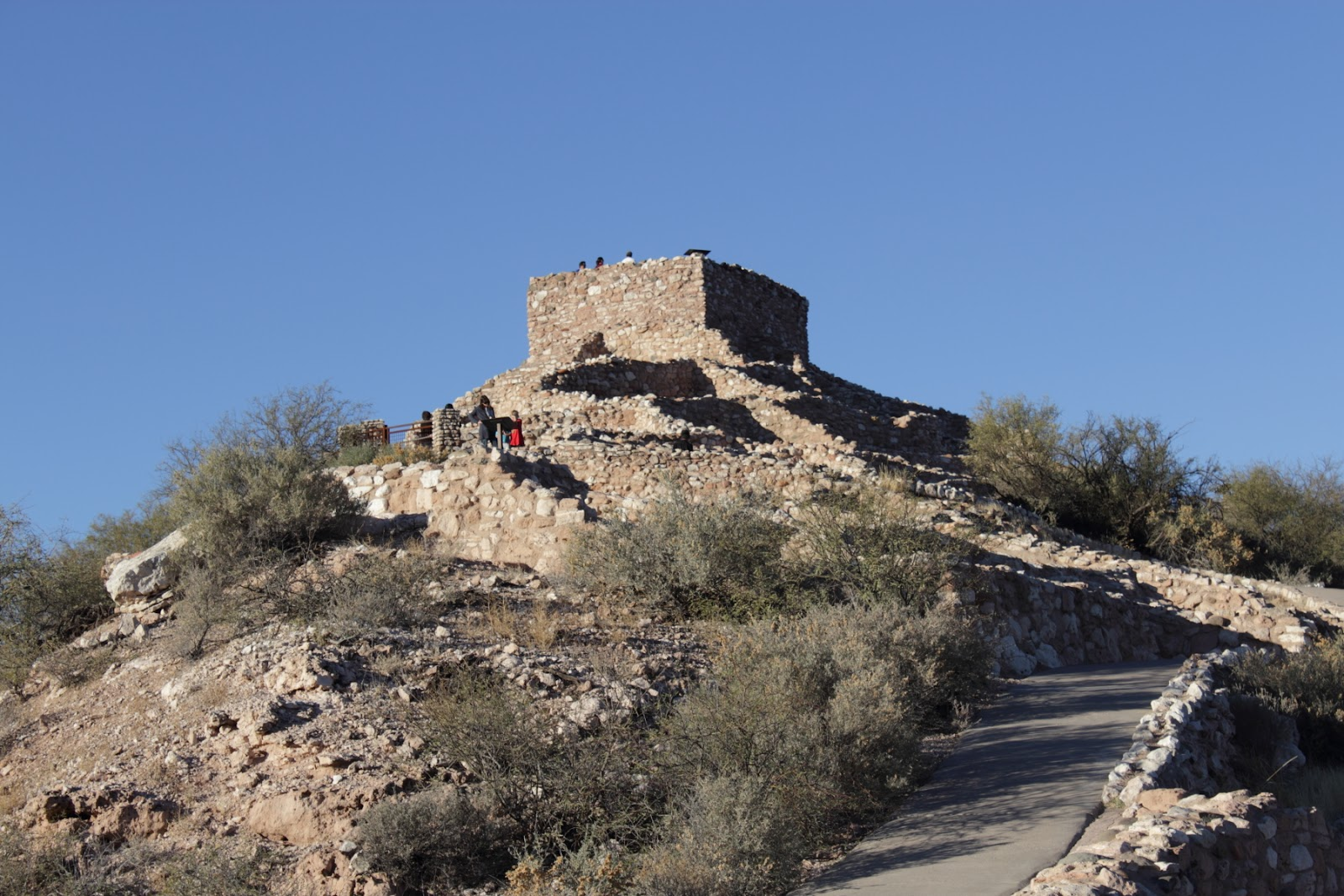 Tuzigoot National Monument  http://www.nps.gov/tuzi/index.htm