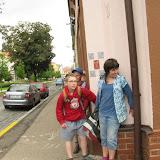Den 6. (čtvrtek 4. 7.)  - výprava do Benešov City. Stopujeme skrze město.