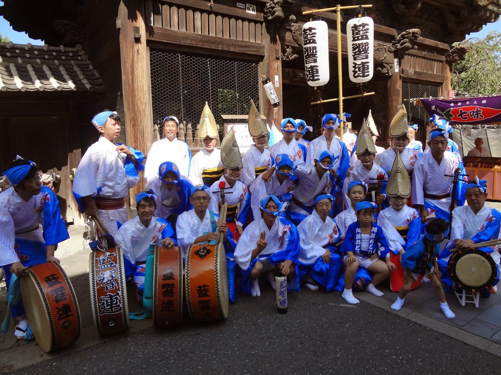 藍響連さん アーティスティクマーケットin大師 阿波踊り 商栄会様 提供