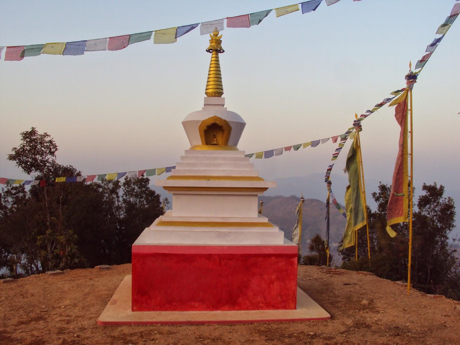 Stupa, Okhaldunga District, Nepal (built by Losang Namgyal Rinpoche)